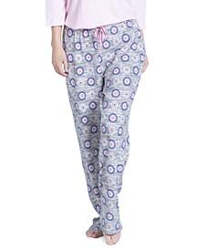 Printed Butter-Knit Sleep Pants