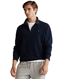 Men's Jersey Quarter-Zip Pullover