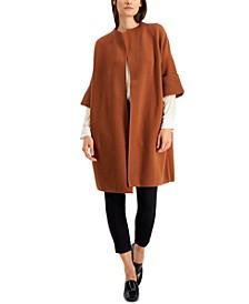 Shawl-Collar Short-Sleeve Cardigan, Created for Macy's