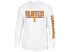 Retro Brand Tennessee Volunteers Men's Team Stripe Long Sleeve T-Shirt