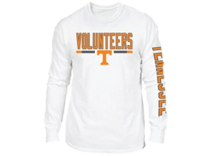 Retro Brand Tennessee Volunteers Men's Team Stripe Long Sleeve T-Shirt