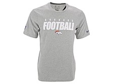 Denver Broncos Men's Dri-Fit Cotton Football All T-Shirt