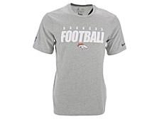 Denver Broncos Men's Dri-Fit Cotton Football All T-Shirt