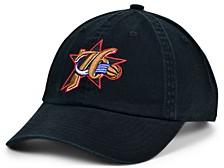 Philadelphia 76ers Hardwood Classic Basic Adjustable Dad Hat