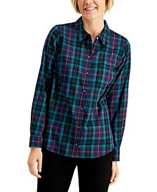 Plaid Cotton Shirt, Created for Macy's