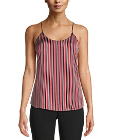 Striped Double-Layer Cami