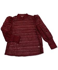 Trendy Plus Size Lace Top