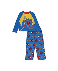 Spider-Man Little and Big Boys 2-Piece Pajama Set