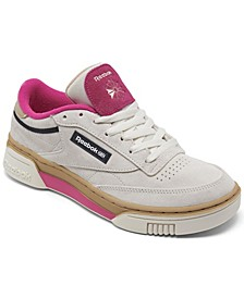 Women's Club C Stacked Casual Sneakers from Finish Line