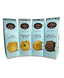 Peaked Gift Boxes of Shortbread , 4 Pack