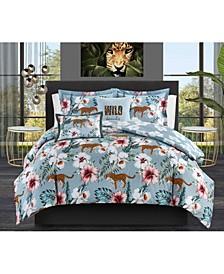 Myrina 9 Piece Queen Comforter Set
