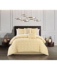 Ahtisa 5 Piece King Comforter Set