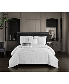 Addison 9 Piece Queen Comforter Set