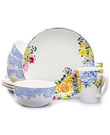 Ceramic Boutique 12 Piece Round Dinnerware Set