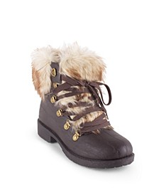 Women's Stratton Fuzzy Hiker Booties