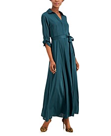 INC Belted Maxi Shirtdress, Created for Macy's