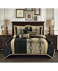 Larsa 7-Piece Queen Comforter Set