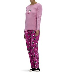 Women's Holiday 3pc Pajama Gift Set