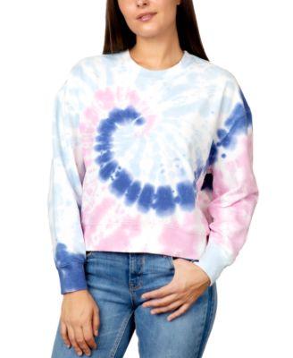 Juniors' Tie-Dye Sweatshirt