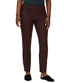 Slim Ankle Pants Available in Regular & Petite Sizes