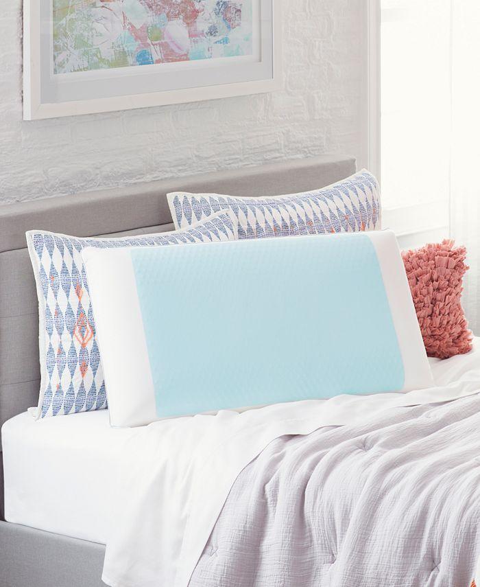 Comfort Revolution - Cool Comfort Hydraluxe Gel & Memory Foam Standard Pillow