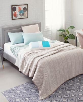 Cool Comfort Hydraluxe King Pillow, Gel & Custom Contour Open Cell Memory Foam