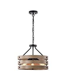 """Fleur 16"""" 3-Light Indoor Chandelier with Light Kit"""