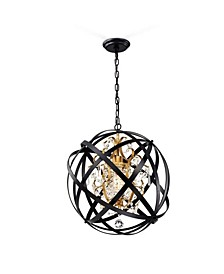 "Kassdin 19"" 1-Light Indoor Chandelier with Light Kit"
