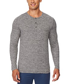 Men's Ultra Lux Henley Sleep T-Shirt