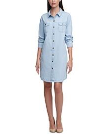 Karl Lagerfeld Denim Shirtdress
