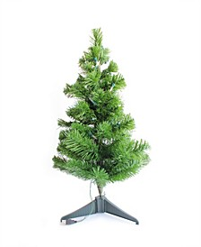 2' Tabletop Prelit Christmas Tree