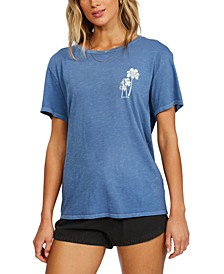 Cotton Beach Palms T-Shirt