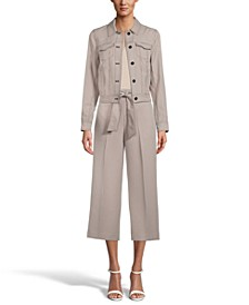 Button-Front Jacket, Camisole & Tie-Front Pants, Created for Macy's