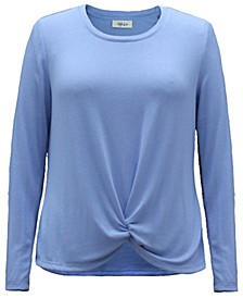Petite Twist-Front Top, Created for Macy's