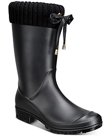 Women's Camylla Rain Boots, Created for Macy's