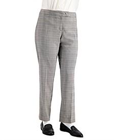 Plus Size Plaid Bowie-Tab Pants