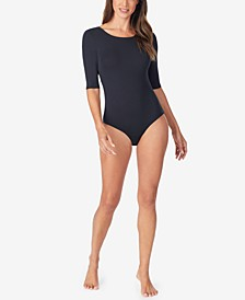 Softwear With Stretch Elbow-Sleeve Bodysuit
