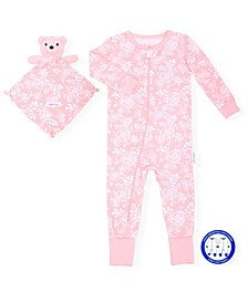 Baby Girls Onesie with Blankie Baby