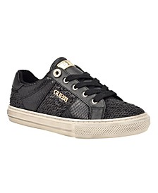 Women's Loven Quilted Lace-Up Sneakers