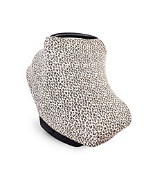 Baby Boys and Girls Leopard Multi-Use Car Seat Canopy