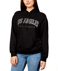 Juniors' Los Angeles Graphic Pullover Hoodie