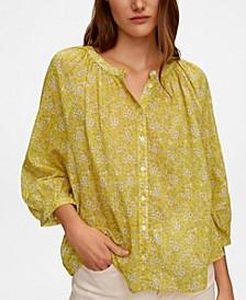 Women's Printed Cotton Blouse
