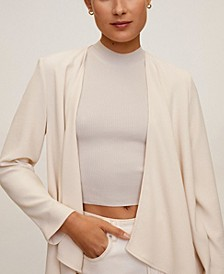Women's Unstructured Flowy Blazer