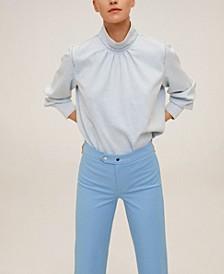 Women's Straight-Cut Crop Pants
