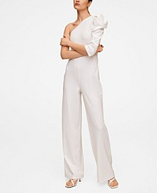 Women's Asymmetric Long Jumpsuit