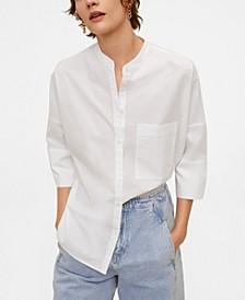 Women's Oversize Poplin Shirt