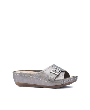 Justina Wedge Sandal Women's Shoes