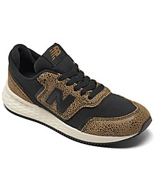 Women's Fresh Foam X70 Leopard Casual Sneakers from Finish Line