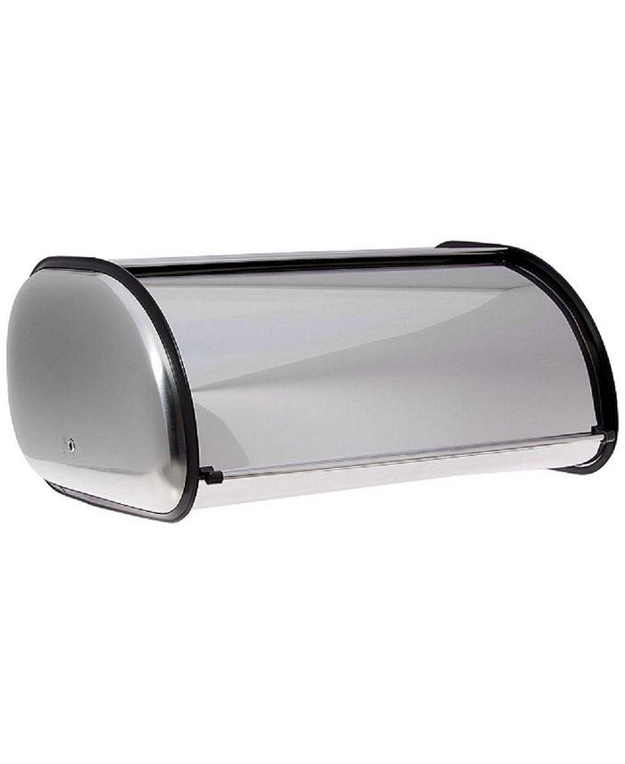 HomeIT - Stainless Steel Bread Box