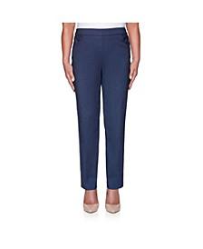 Women's Misses Classic Allure Proportioned Medium Denim Pant